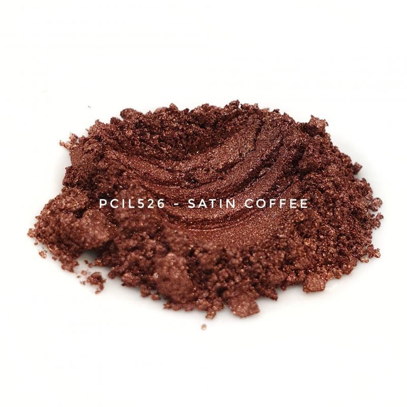 Косметический пигмент PCIL526 Satin Coffee (Атласный кофе), 5-25 мкм