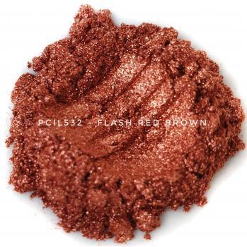 PCIL532 - Вспыхивающий красно-коричневый, 10-100 мкм (Flash Red Brown)