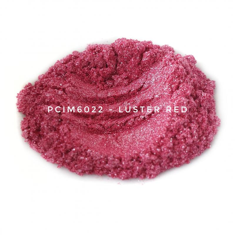 Косметический пигмент PCIM6022 Luster Red (Блестящий красный), 10-60 мкм
