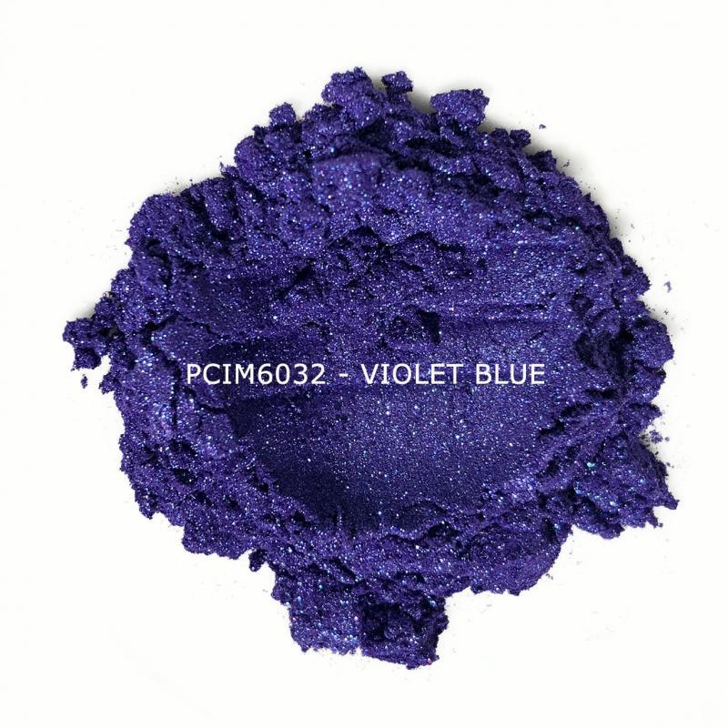 Косметический пигмент PCIM6032 Violet Blue (Фиолетово-синий), 10-60 мкм