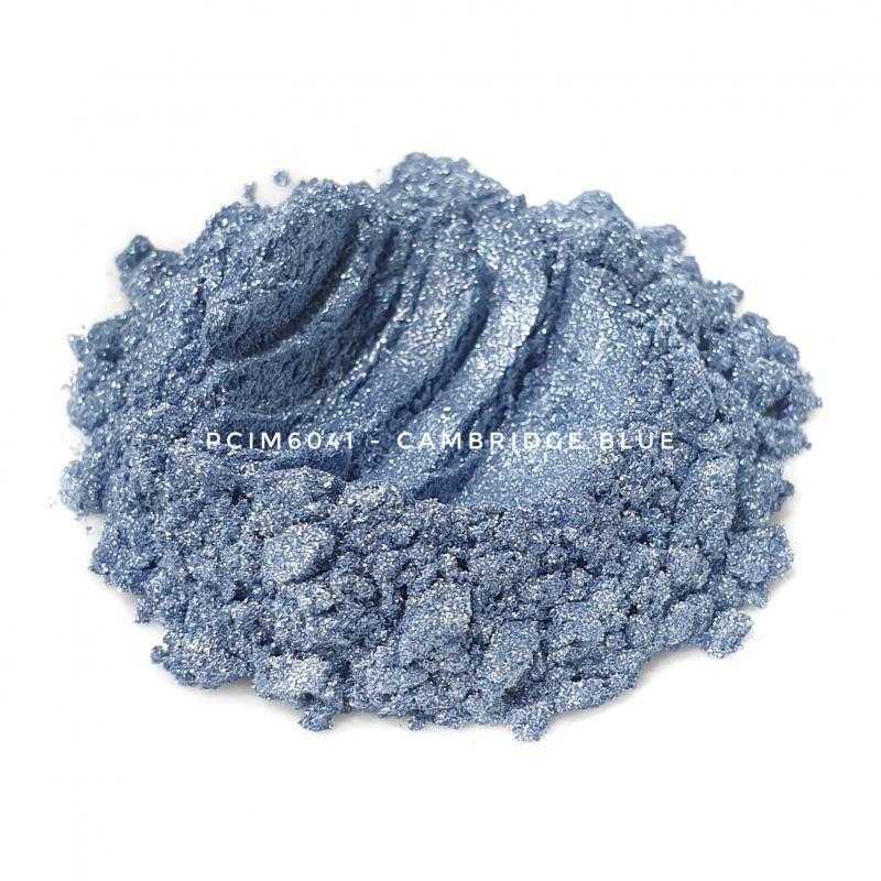 Косметический пигмент PCIM6041 Cambridge Blue (Голубой Кембридж), 10-60 мкм