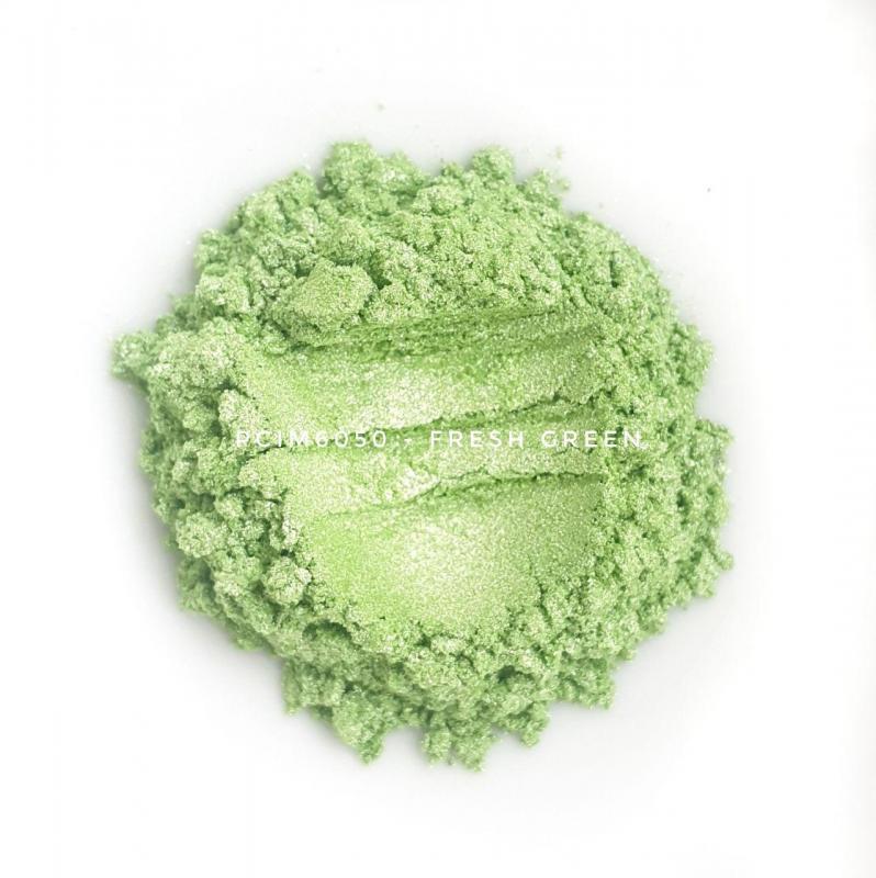 Косметический пигмент PCIM6050 Fresh Green (Свежая зелень), 10-60 мкм