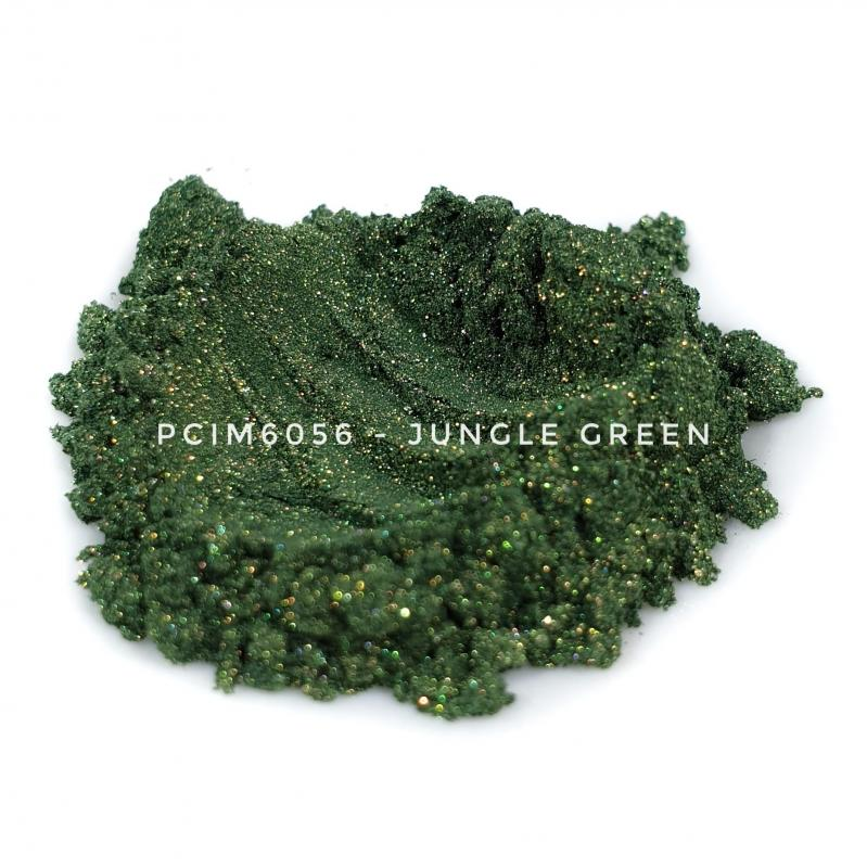 Косметический пигмент PCIM6056 Jungle Green (Зеленые джунгли), 10-60 мкм