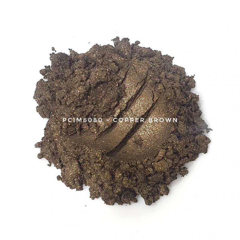 Косметический пигмент PCIM6080 Cooper Brown (Медно-коричневый), 10-60 мкм