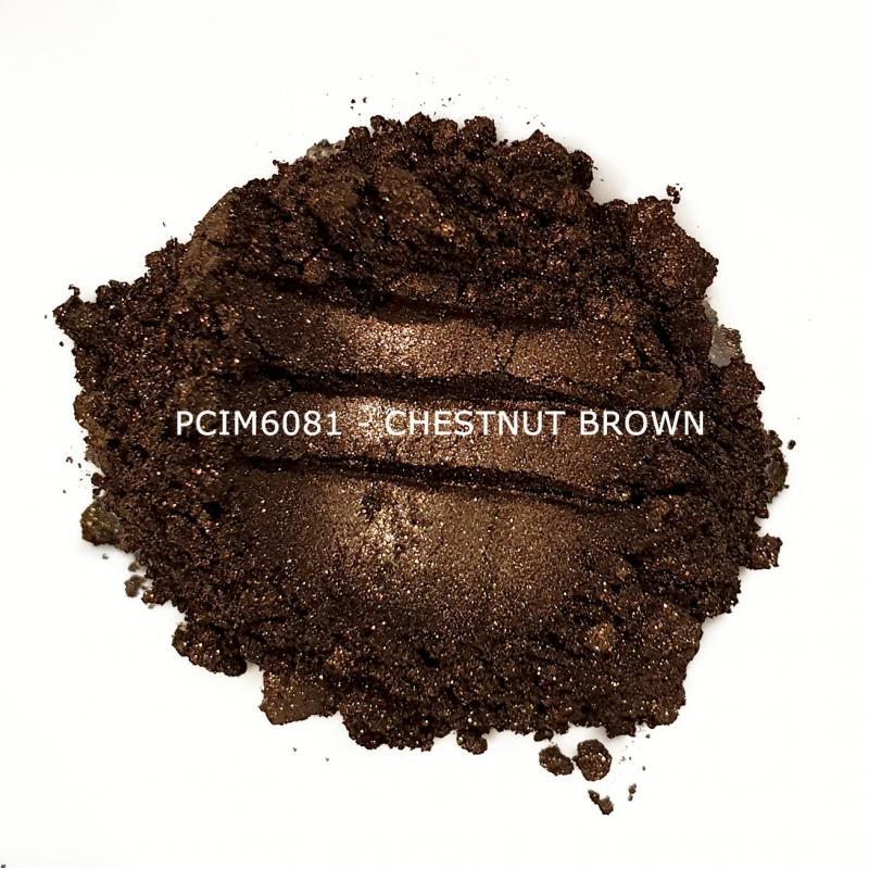 Косметический пигмент PCIM6081 Chestnut Brown (Ореховый), 10-60 мкм
