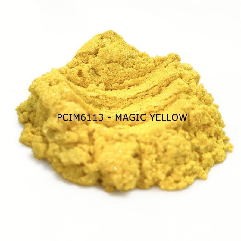Косметический пигмент PCIM6113 Magic Yellow (Волшебный желтый), 10-60 мкм