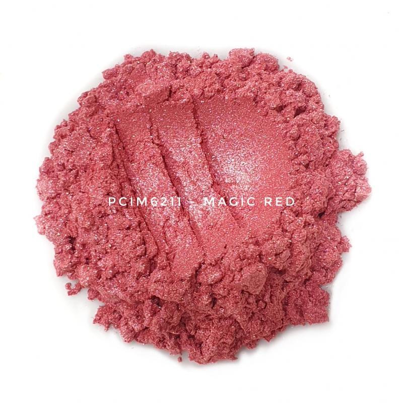 Косметический пигмент PCIM6211 Magic Red (Волшебный красный), 10-60 мкм