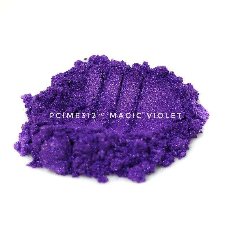Косметический пигмент PCIM6312 Magic Violet (Волшебный фиолетовый), 10-60 мкм