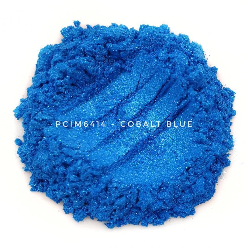 Косметический пигмент PCIM6414 Cobalt Blue (Кобальтово-синий), 10-60 мкм