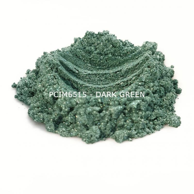Косметический пигмент PCIM6515 Dark Green (Темно-зеленый), 10-60 мкм