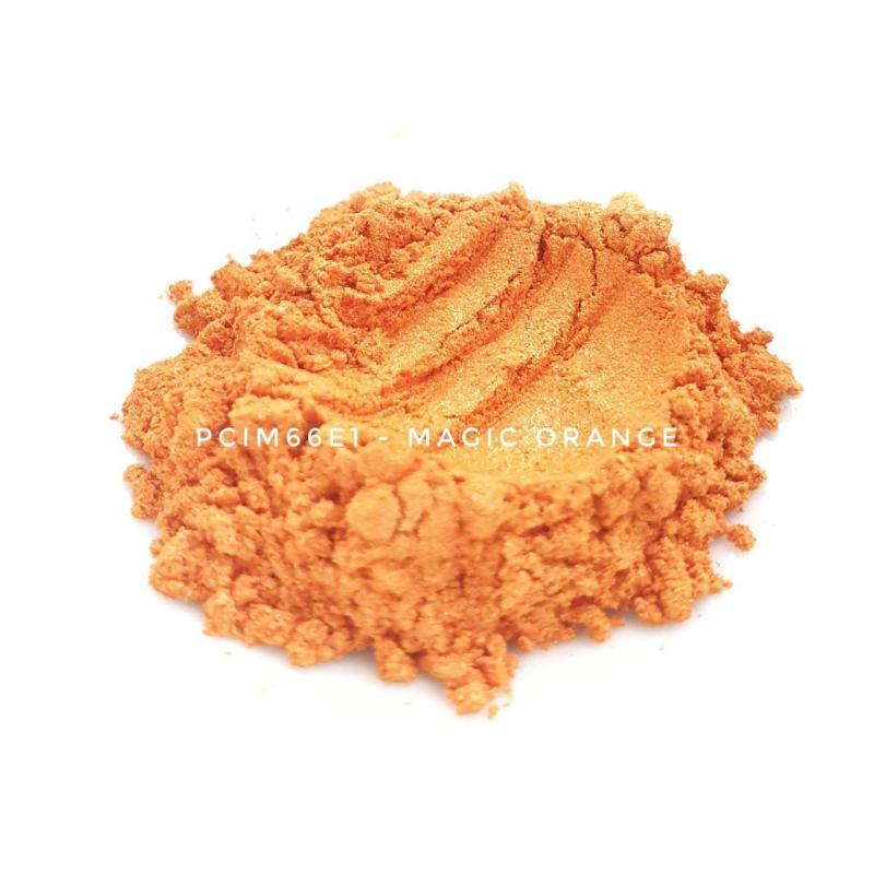 Косметический пигмент PCIM66E1 Magic Orange (Волшебный оранжевый), 10-60 мкм