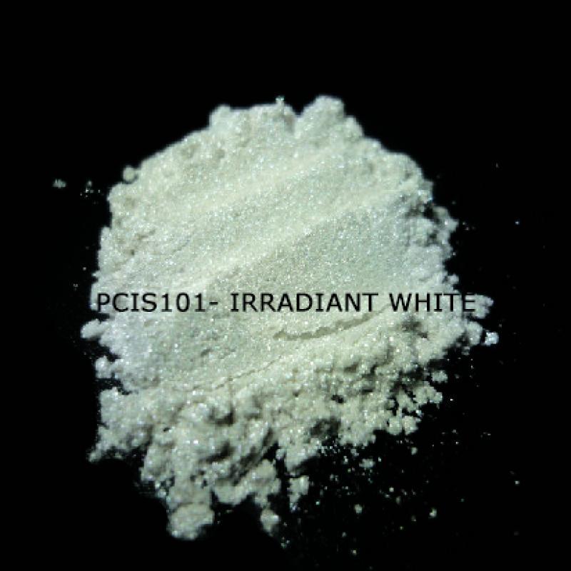 Косметический пигмент PCIS101 Irradiant White (Лучистый белый), 10-70 мкм