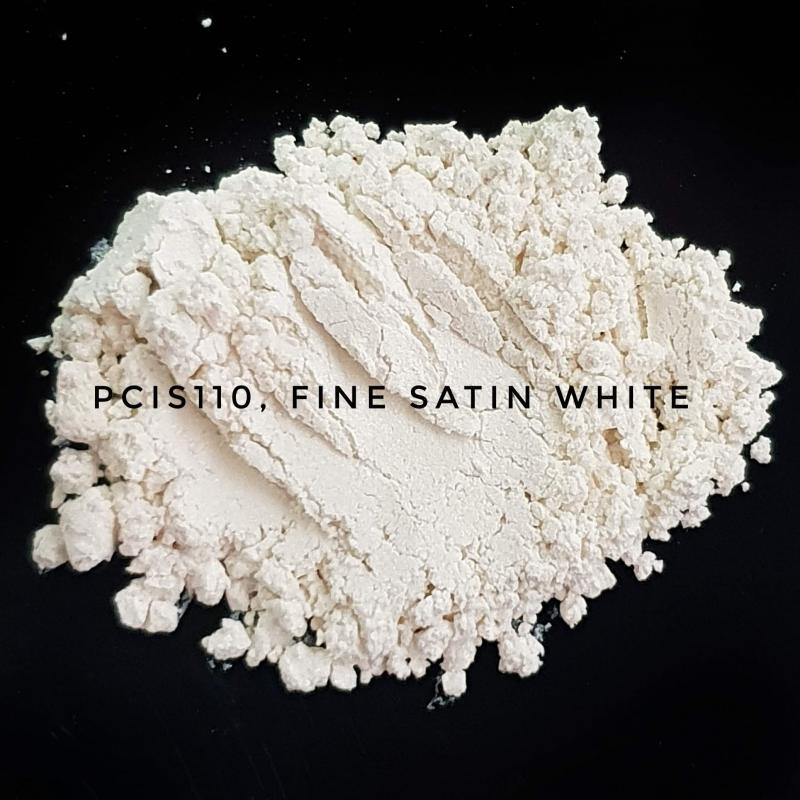 Косметический пигмент PCIS110 Fine Satin White (Тонкий атласный белый), 0-15 мкм