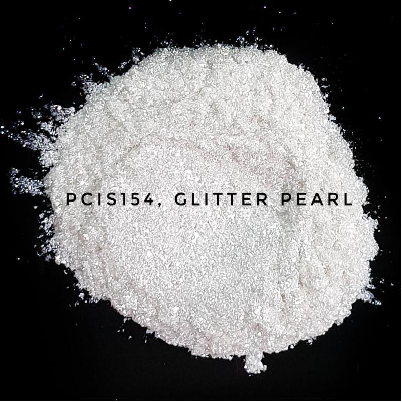Косметический пигмент PCIS154 Glitter Pearl (Блестки перламутровые), 30-150 мкм