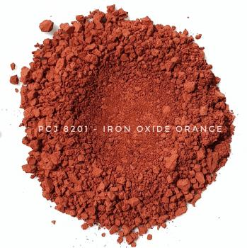PCJ8201 - Железооксидный красный, 0-1 мкм (Iron Oxides Red (CI 77491))