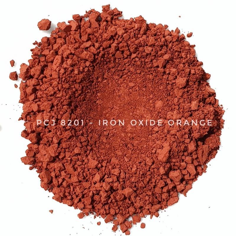 Косметический пигмент PCJ8201 Iron Oxides Red (CI 77491) (Железооксидный красный), 0-1 мкм