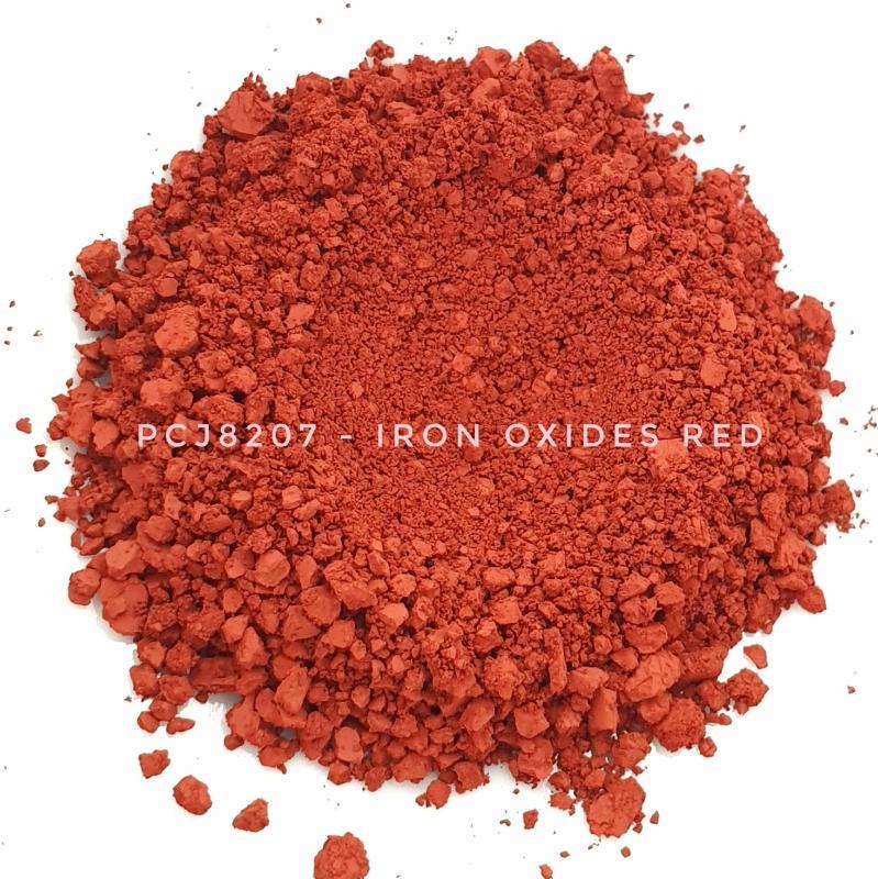 Косметический пигмент PCJ8207 Iron Oxides Red (CI 77491) (Железооксидный красный), 0-0,1 мкм