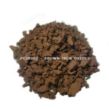 PCJ8802 - Железооксидный коричневый, 0-1 мкм (Iron Oxides Brown (CI 77491, 77492, 77499))
