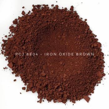 PCJ8804 - Железооксидный коричневый, 0-1 мкм (Iron Oxides Brown (CI 77491, 77492, 77499))