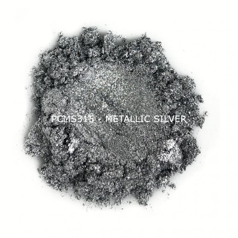 Косметический пигмент PCMS315 Metallic Silver (Металлическое серебро), 35-75 мкм