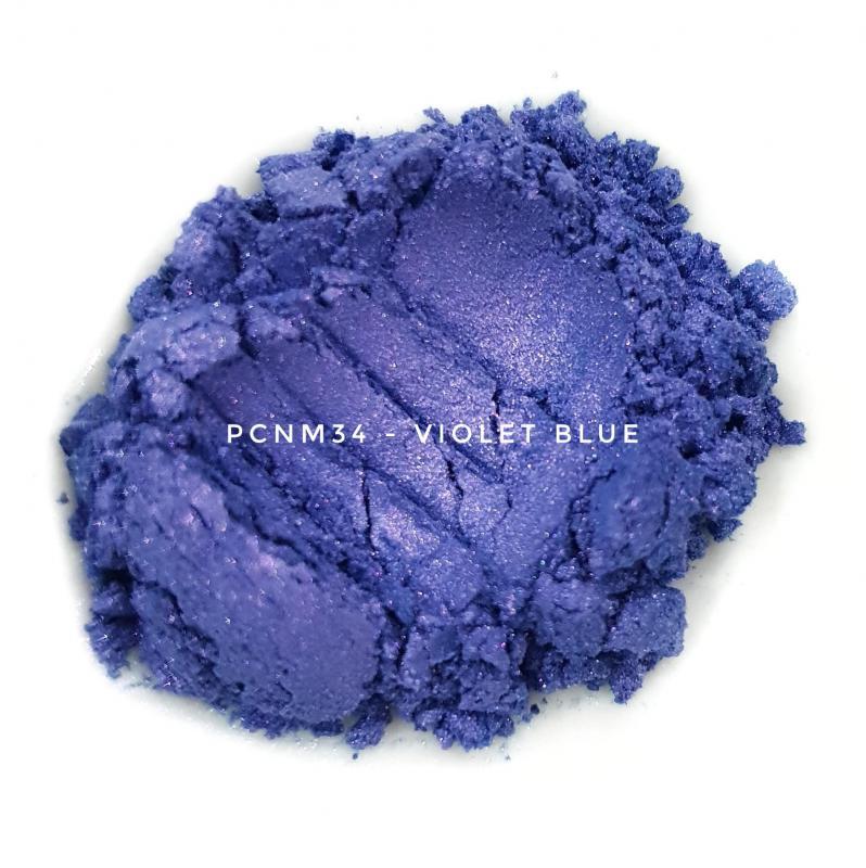 Косметический пигмент PCNM34 Violet Blue (Фиолетово-синий), 10-60 мкм