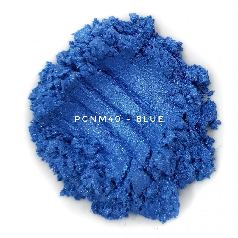 Косметический пигмент PCNM40 Blue (Синий), 10-60 мкм
