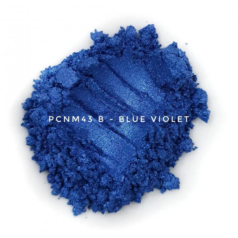 Косметический пигмент PCNM43B Blue Violet (Сине-фиолетовый), 10-60 мкм