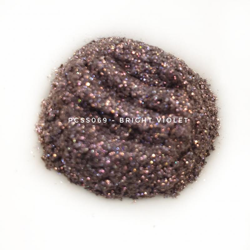Косметический пигмент PCSS069 Bright Violet (Ярко-фиолетовый), 30-150 мкм