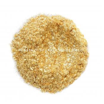 PCSS361 - Искрящееся светлое золото, 60-300 мкм (Sparkle Light Gold)