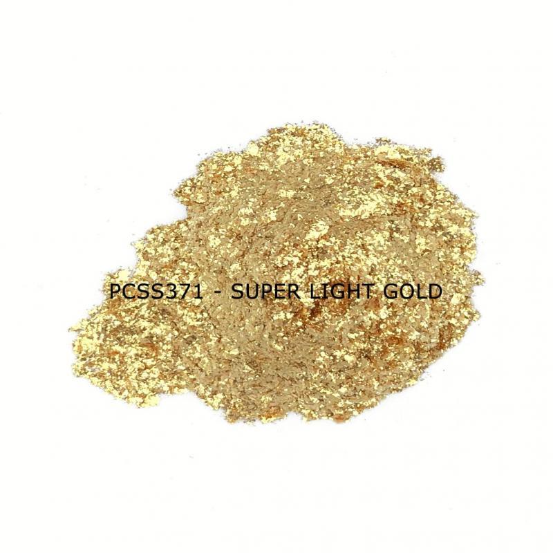 Косметический пигмент PCSS371 Super Light Gold (Супер светлое золото), 200-700 мкм