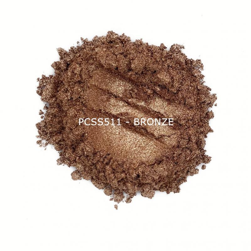Косметический пигмент PCSS511 Bronze (Бронзовый), 10-60 мкм
