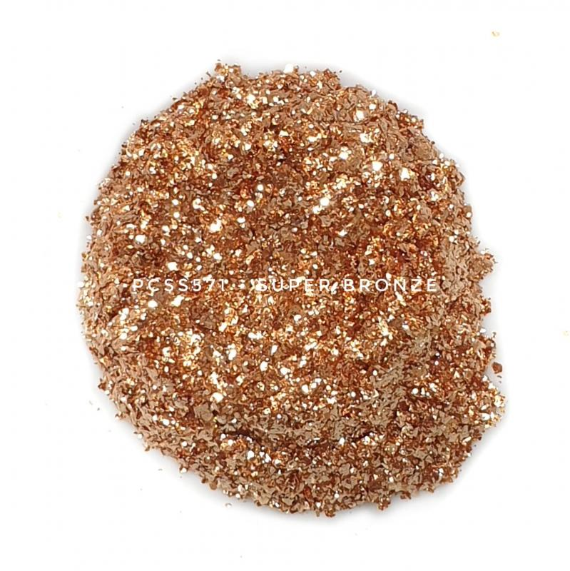 Косметический пигмент PCSS571 Super Bronze (Супер-бронзовый), 200-700 мкм