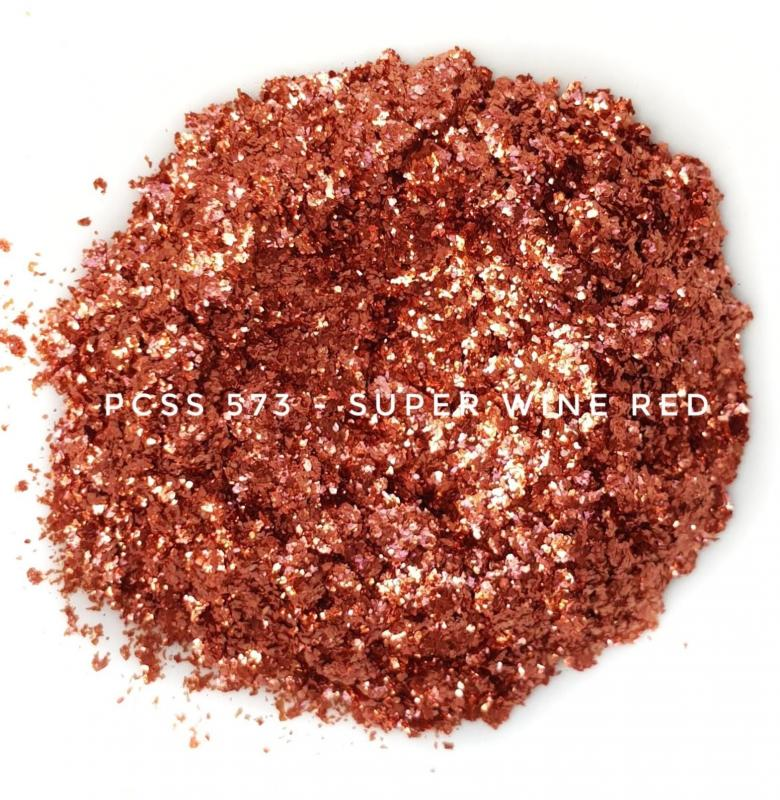 Косметический пигмент PCSS573 Super Wine Red (Супер красное вино), 200-700 мкм