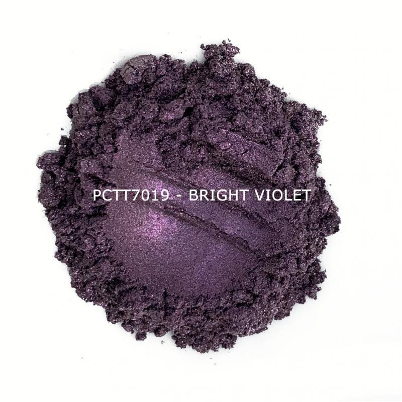 Косметический пигмент PCTT7019 Bright Violet (Ярко-фиолетовый), 10-60 мкм