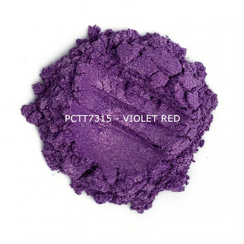 Косметический пигмент PCTT7315 Violet Red (Фиолетово-красный), 10-60 мкм