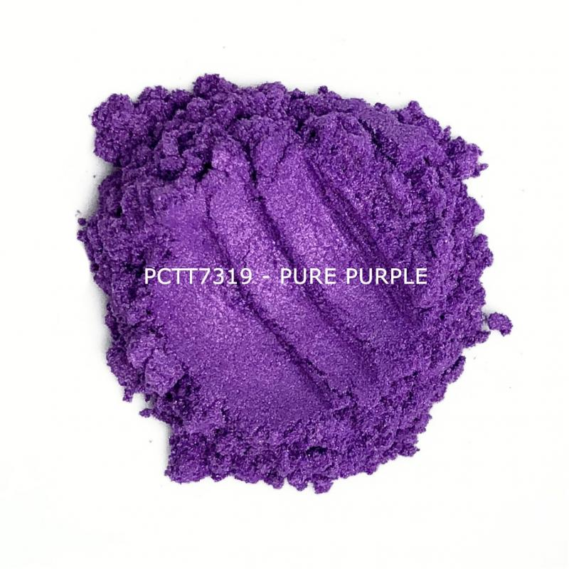 Косметический пигмент PCTT7319 Pure Purple (Чисто-пурпурный), 10-60 мкм