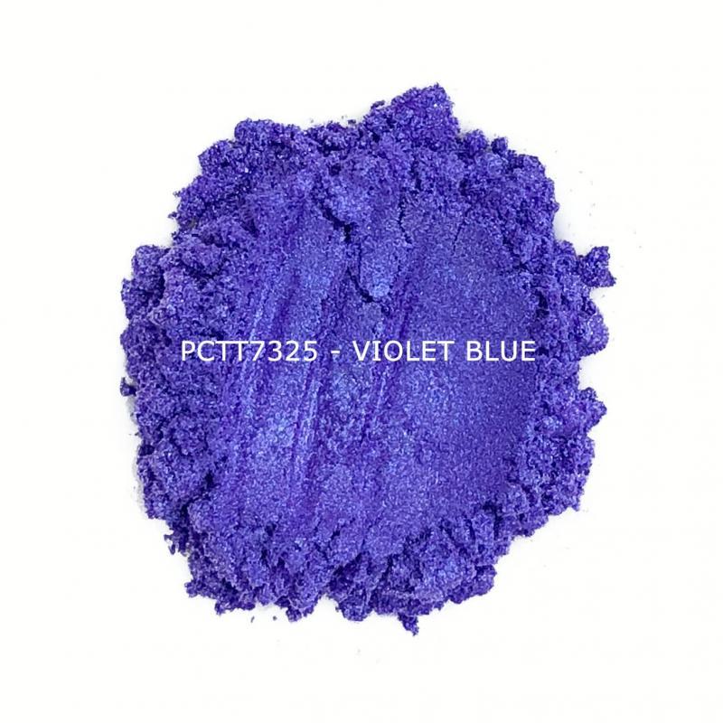 Косметический пигмент PCTT7325 Violet Blue (Фиолетово-синий), 10-60 мкм