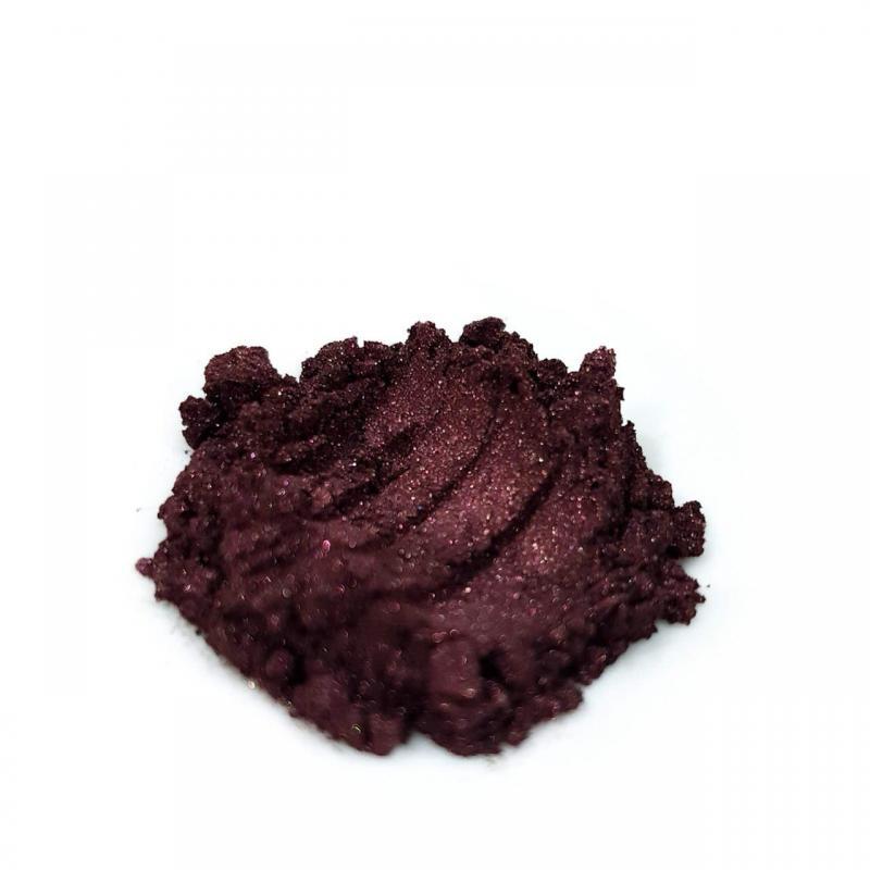 Косметический пигмент ACS128 Wine Red (Винно-красный), 10-60 мкм