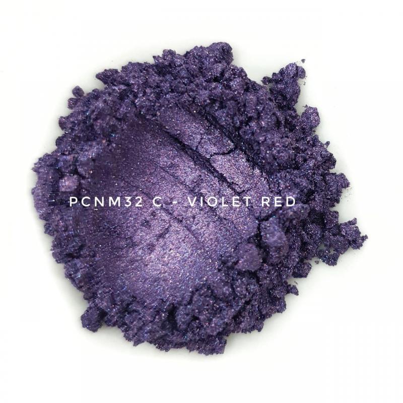 Косметический пигмент PCNM32С Violet Red (Фиолетово-красный), 10-60 мкм