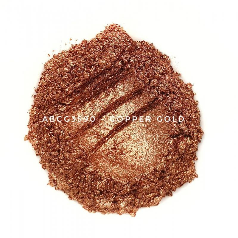 Индустриальный пигмент ACCG3590 Copper Gold (Медное золото), 35-90 мкм