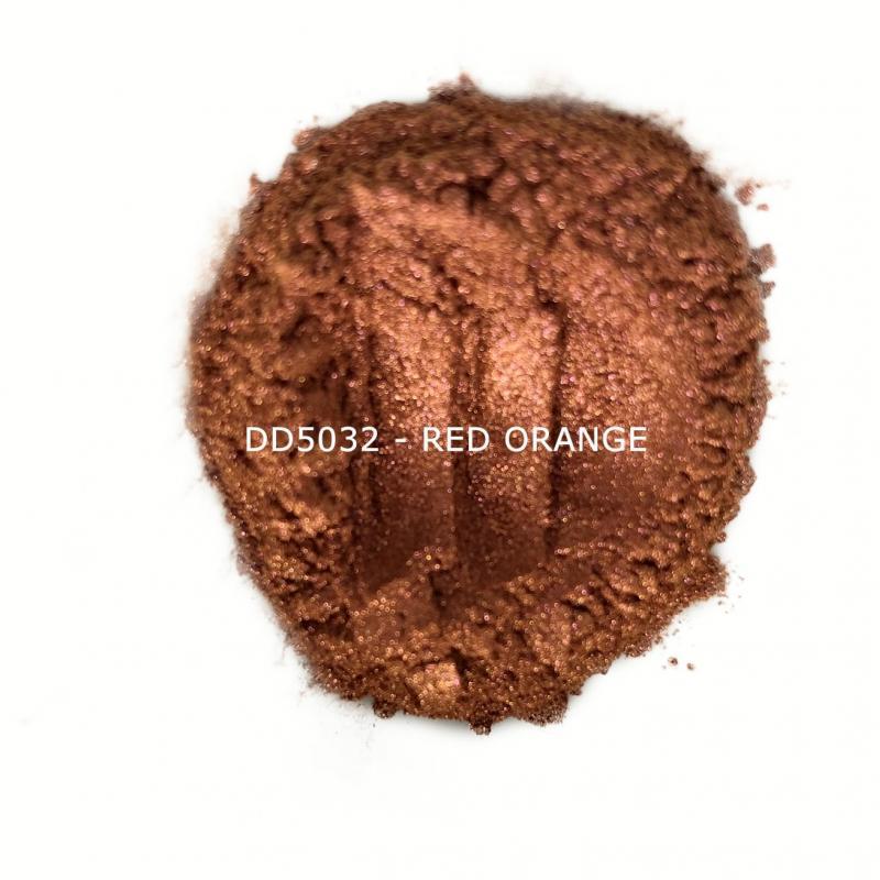 Индустриальный пигмент DD5032 Red Orange (Красный/оранжевый), 10-60 мкм