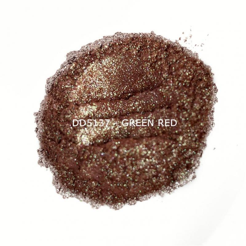 Индустриальный пигмент DD5137 Green Red (Зеленый/красный), 50-100 мкм