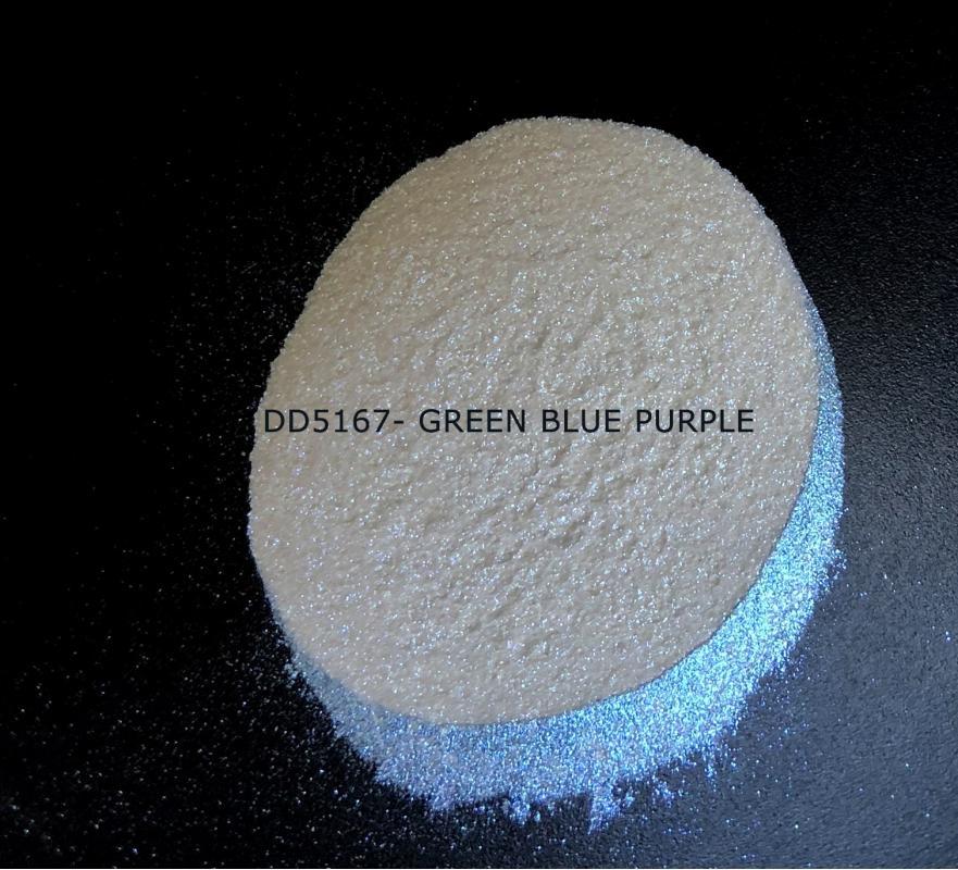 Индустриальный пигмент DD5167 Green Blue Purple (Зеленый/синий/пурпурный), 50-100 мкм