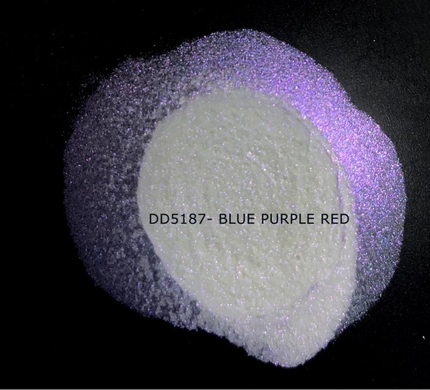 Индустриальный пигмент DD5187 Blue Purple Red (Синий/пурпурный/красный), 20-100 мкм
