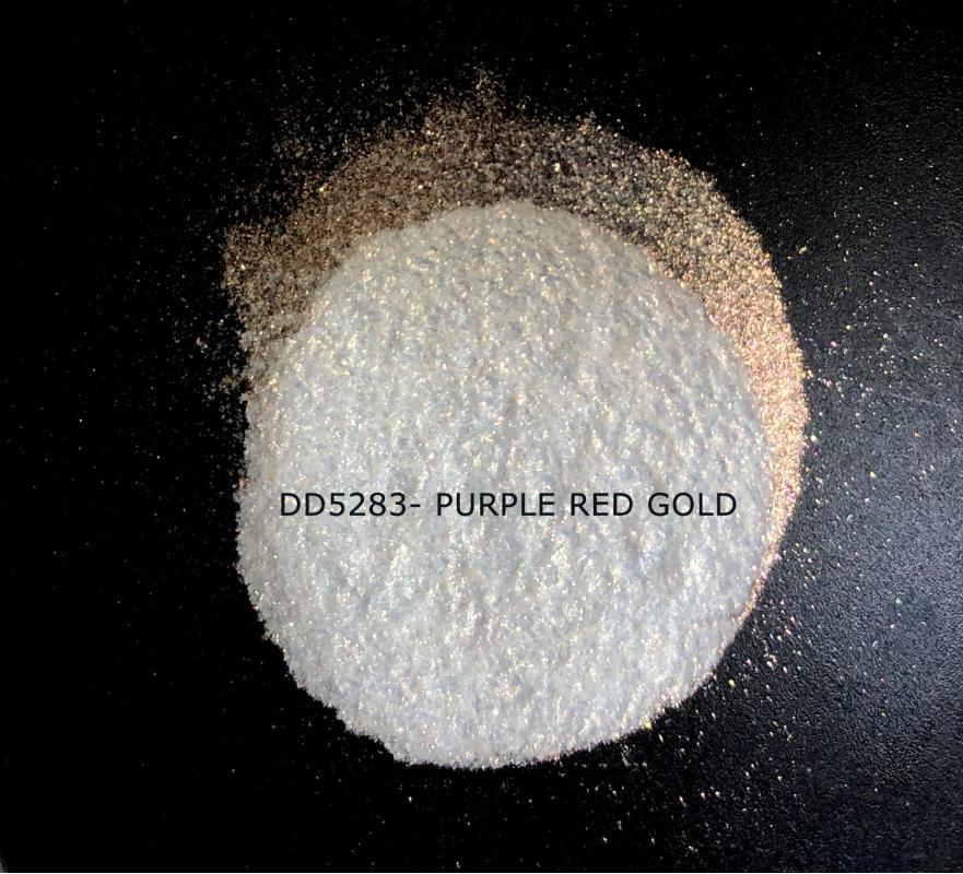 Индустриальный пигмент DD5283 Purple Red Gold (Пурпурный/красный/золотой), 80-200 мкм