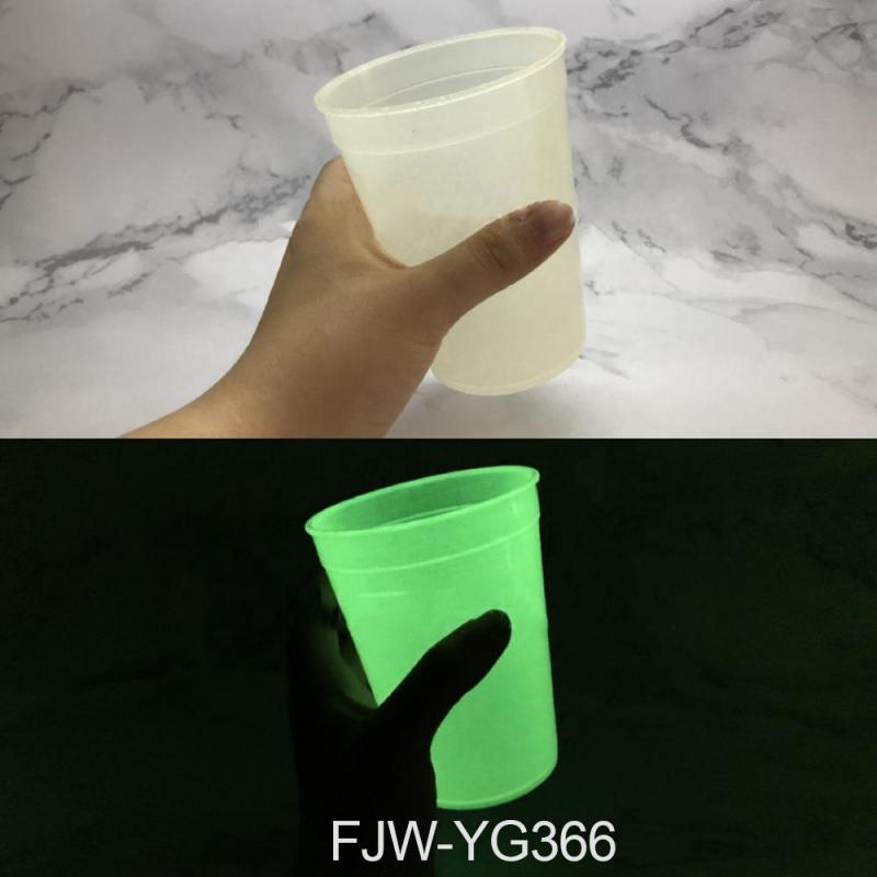 Светонакопительный пигмент FJW-YG366 Yellow Green (Желто-зеленый), 30-50 мкм