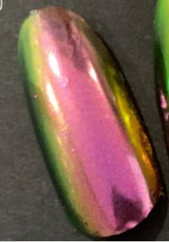 Пигмент ''суперхамелеон'' PCCSA01S - Красно-золотисто-зеленый, 10-70 мкм