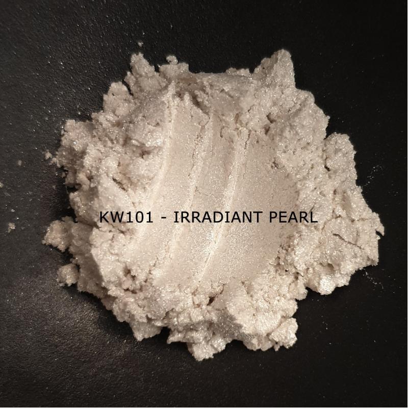 Индустриальный пигмент KW101 Irradiant Pearl (Лучистый перламутр), 30-70 мкм