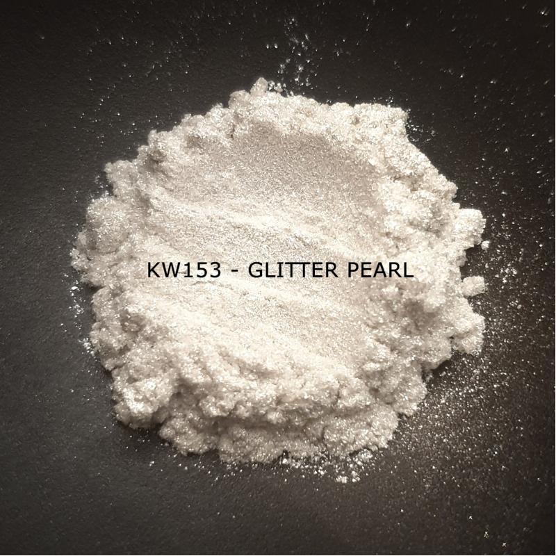 Индустриальный пигмент KW153 Glitter Pearl (Мерцающий перламутр), 20-100 мкм