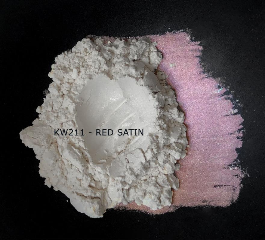 Индустриальный пигмент KW211 Red satin (Красный атлас), 5-25 мкм